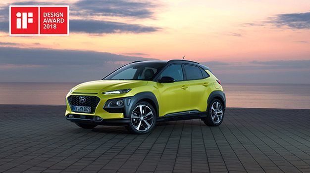 iF Design Award za Konu i i30 Fastback
